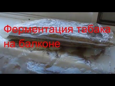 Ферментация табака на балконе