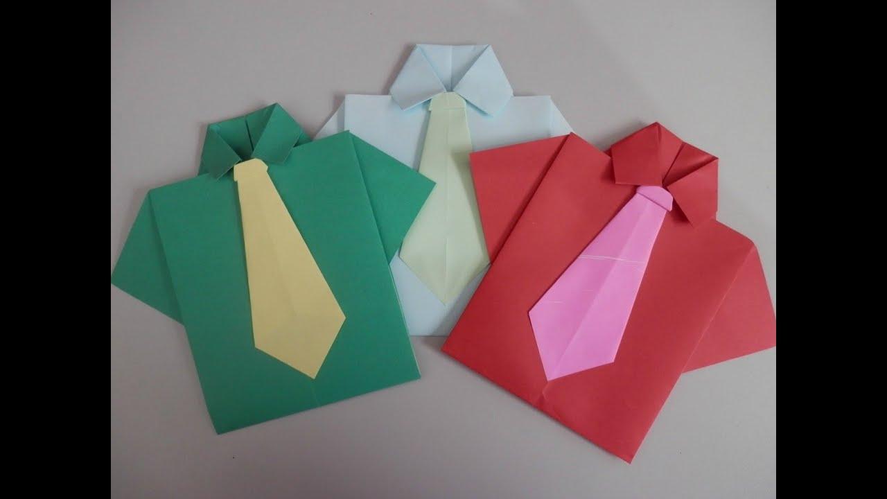 camisa origami youtube. Black Bedroom Furniture Sets. Home Design Ideas