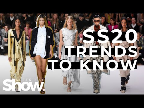 Spring Summer 2020 Fashion Trends To Know | SheerLuxe Show. http://bit.ly/2GPkyb3