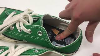큰 신발 줄이기 메모리폼 깔창 발 볼 좁은 컨버스 운동…