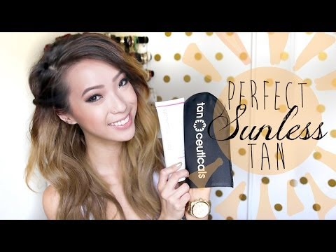 How To Get The Perfect Self Tan ft. TanCeuticals CC Self Tanning Lotion