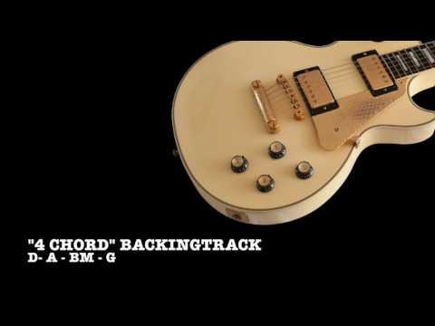 4 chord Backing track I–V–vi–IV progression DABmG