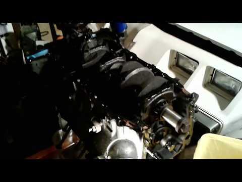 Oldsmobile Engine Blocks. Windowed Main Webbing