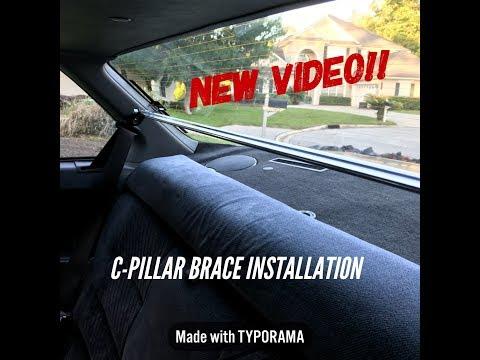 3rd Gen Prelude Ep. 14 - C-Pillar Brace Installation