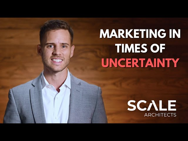 How do you create a marketing strategy in times of uncertainty