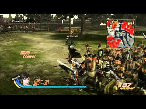Dynasty Warriors 7: Xtreme Legends Wang Yi (Character Breakdown)