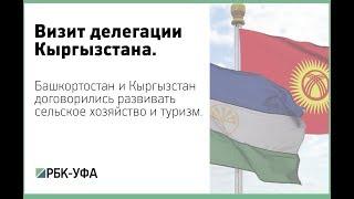 Башкортостан и Кыргызстан договорились развивать сельское хозяйство и туризм.