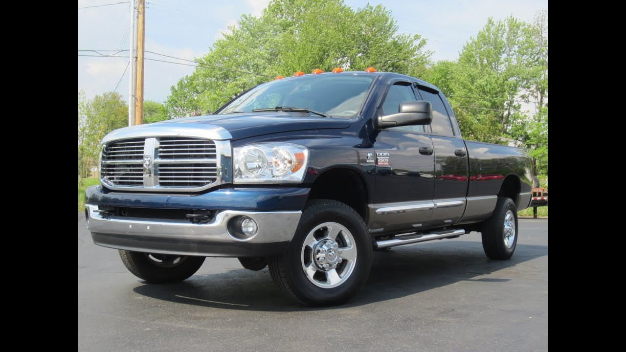 2009 dodge ram 2500 big horn 4x4 6 7l cummins longbed sold. Black Bedroom Furniture Sets. Home Design Ideas