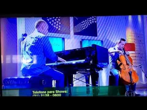 The Piano Guys on Brazil's national TV station, Globo! Feb 21, 2014
