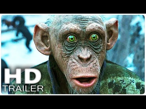 WAR FOR THE PLANET OF THE APES Final Trailer (Extended) 2017