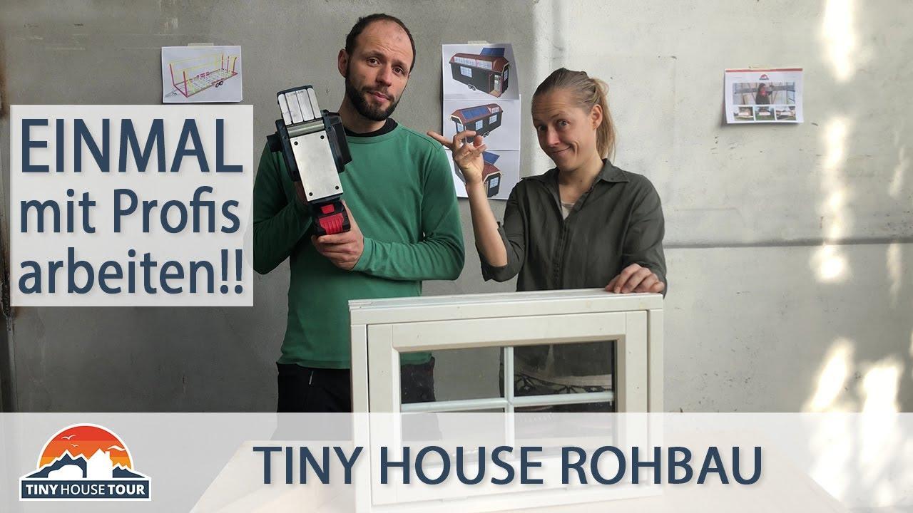Auf der Baustelle wird es nicht langweilig – Das Fensterdrama geht weiter (Teil 3) | TINY HOUSE TOUR