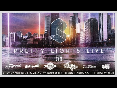 Pretty Lights Live @ Huntington Bank Pavilion at Northerly Island - Chicago, IL - 08/18/17