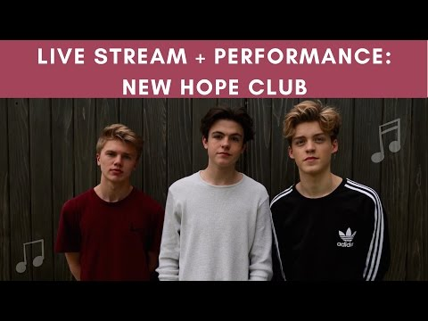 EXCLUSIVE LIVESTREAM: New Hope Club