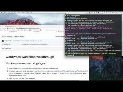 Build A Website With WordPress - Part 02: Vagrant and WordPress Setup - PHP Women Asia