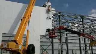 Монтаж сендвич панелей(Как наша команда промальпов работала на строительстве зданий занимаясь монтажом сендвич панелей (увы не..., 2015-04-08T20:25:14.000Z)