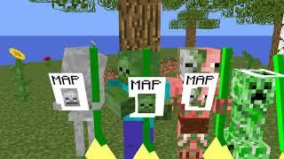 Monster School: Flying Broom - Minecraft Animation