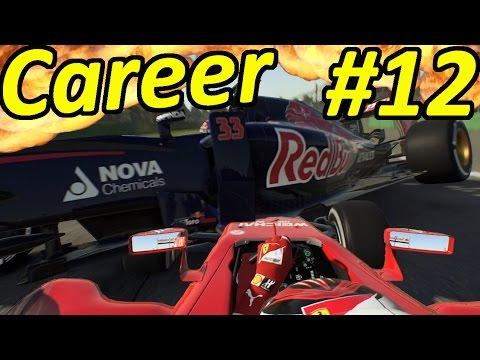F1 2015 Verstappen Career Mode #12: MASSIVE CRASH |