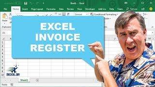 Learn Excel - Create an Invoice Register - Podcast #1808