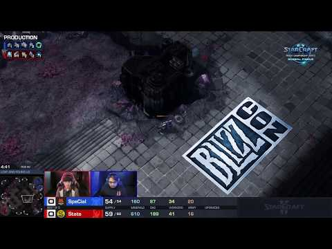 SpeCial vs. Stats | Starcraft II WCS Global Finals | BlizzCon 2018