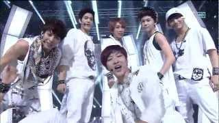 BTOB [Intro + WOW] @SBS Inkigayo 인기가요 20120916