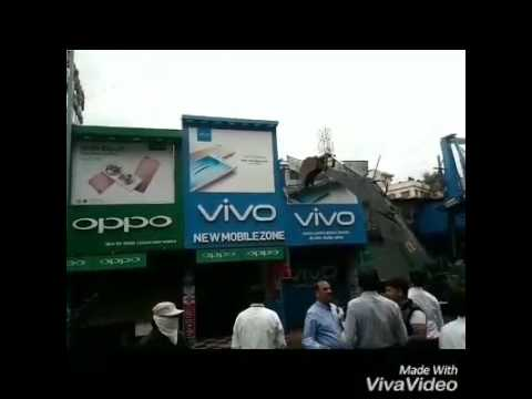Chinese mobile company branding not allowed in Pune.