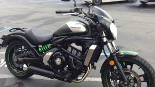 Contra Costa Powersports-Used 2016 Kawasaki Vulcan S 650 ABS CAFE middleweight cruiser motorcycle