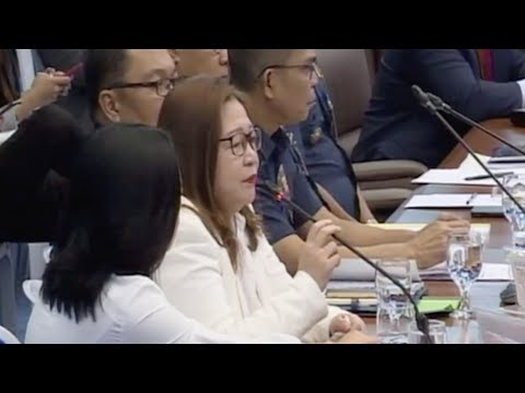 Sanchez's wife takes hot seat in Senate probe