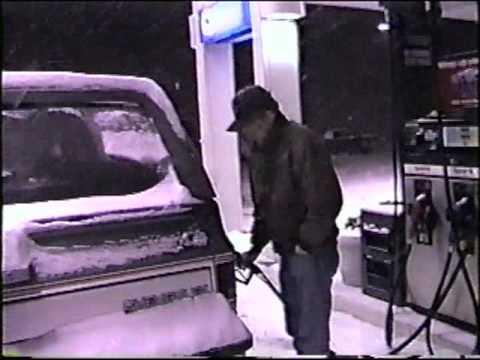 Blizzard of 1996 in Centreville, Virginia - Includes NBC 4 Bob Ryan Coverage (Pt. 1)