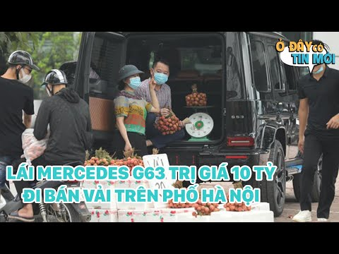 Người Đàn Ông Lái Xe Mercedes G63 Trị Giá 10 Tỷ Đi Bán Vải Trên Phố Hà Nội Gây Bão MXH #Shorts