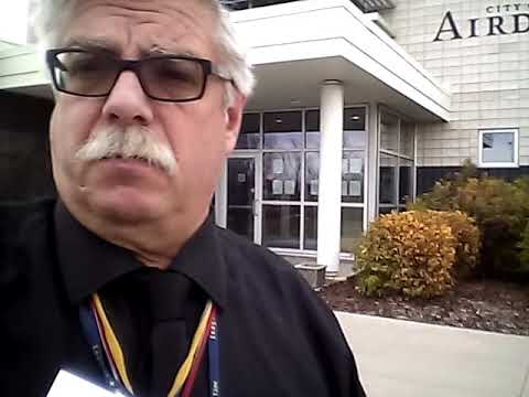 Airdrie ab INTIMIDATION BULLYING  by CITY MANGER √ vote HERDMAN  Council 16oct17 ©®HerdmanMedia