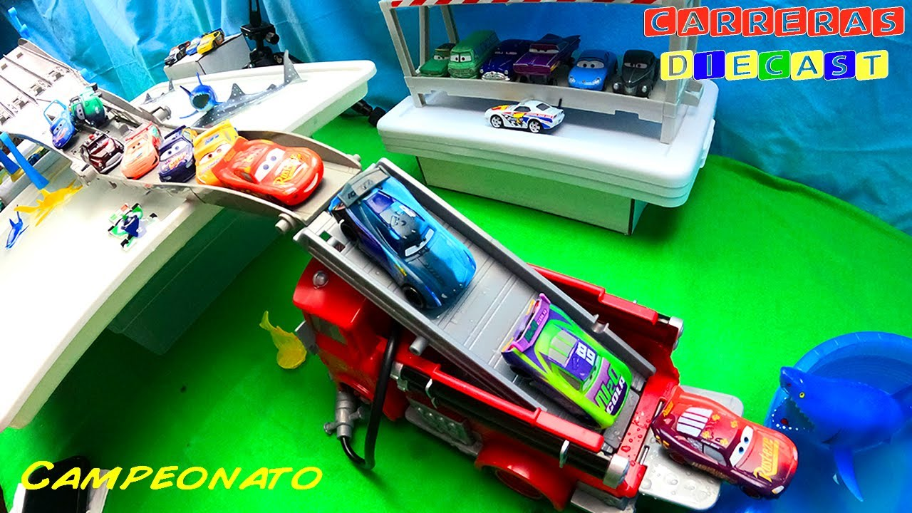 DISNEY CARS COLOR CHANGERS TORNEO