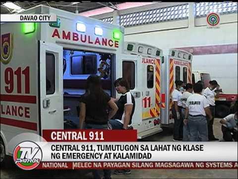 """TV Patrol: Duterte """"Dapat gayahin ang 911 ng Davao City"""""""