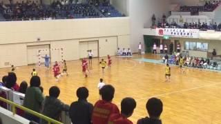 横浜創学館 キーパー3連続セーブ 【ハンドボール】