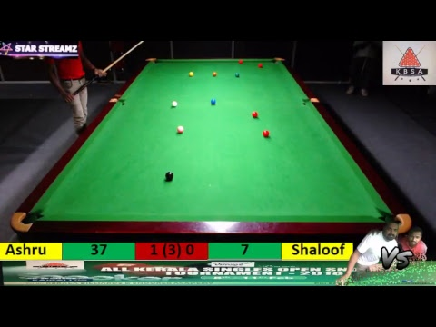 Ashru vs Shaloof Kerala Snooker Tournament 2018