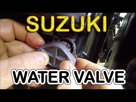SUZUKI WATER PRESSURE VALVE REPLACEMENT