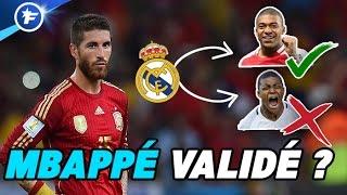 Sergio Ramos donne son avis sur Mbappé au Real Madrid