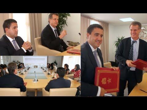 Phone Groupe en partenariat avec l'école centrale Casablanca