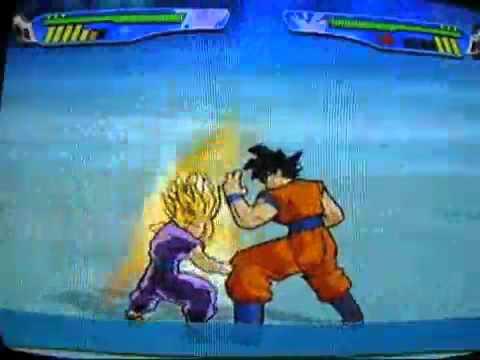 Budokai 3 Goku, Bardock and Teen Gohan combo NEW