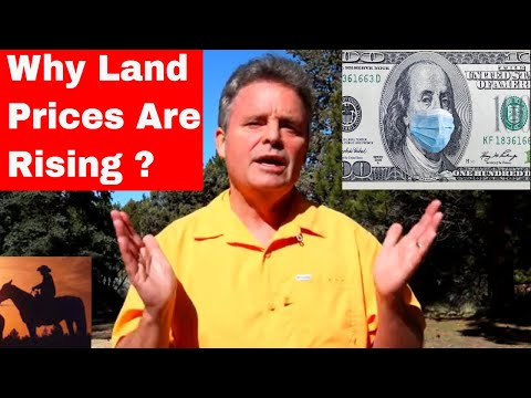 Why Land Prices Keep Going Up