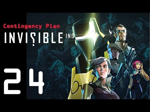 Invisible Inc. Contingency Plan 24 - Dr. Xu is back!