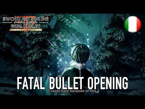 Sword Art Online Fatal Bullet - PS4/XB1/PC - Complete Edition (Trailer Italiano)