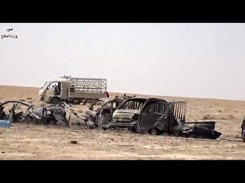 Irak: un convoi de Daech terrassé par l'aviation américaine