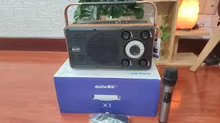 Loa karaoke 400w Daile X1 - âm thanh mạnh mẽ