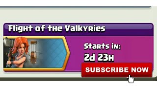 Clash Of Clans | Flight of the Valkyries | Upcoming Event | Clash With Bhargav | Hindi