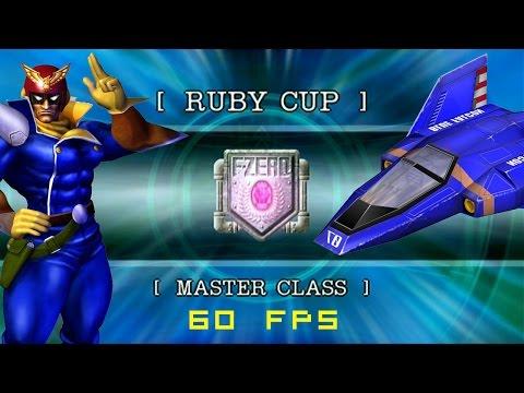 F-Zero GX: Grand Prix | Ruby Cup | Master Class | Captain Falcon [60fps]