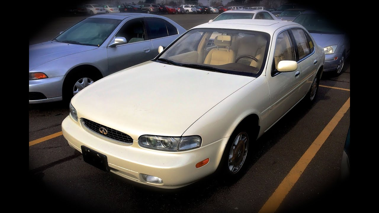 hight resolution of 1994 infiniti j30 start up quick tour rev with exhaust view 41k