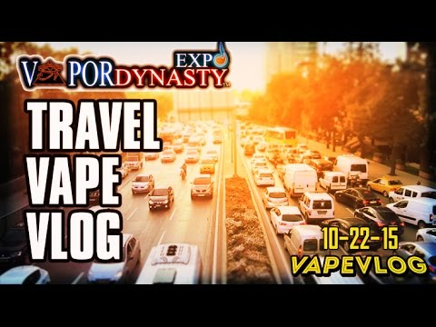 VaporDynasty EXPO Travel Vlog ~ With OHMBOYOC ~ BroTrip 1