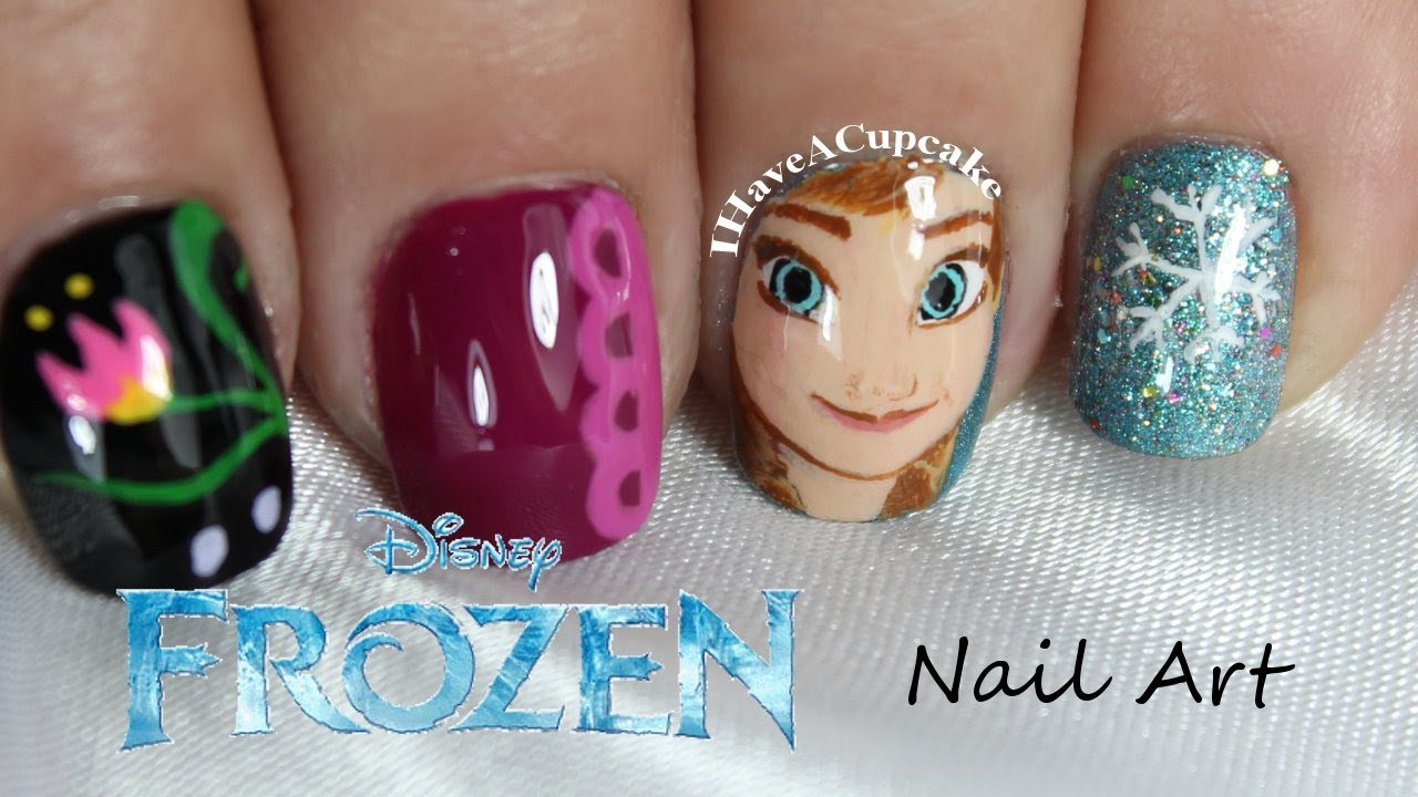 Disney Frozen Nail Designs