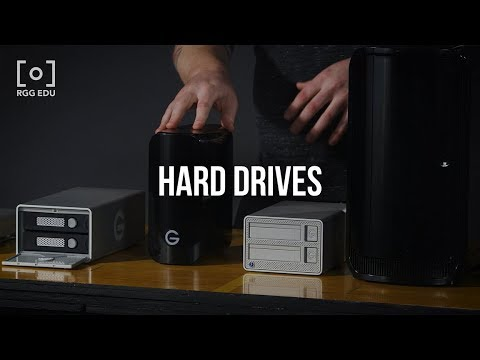 Hardware Hard Drives Options In Photography | RGG EDU