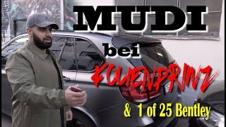 Mudi's Autos werden foliert &  BENTLEY 1 of 25 limitiert  !!!!